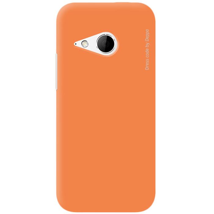 Deppa Air Case чехол для HTC One mini 2, Orange83076Чехол Deppa Air Case для HTC One mini 2 предназначен для защиты корпуса смартфона от механических повреждений и царапин в процессе эксплуатации. Имеется свободный доступ ко всем разъемам и кнопкам устройства. Чехол изготовлен из поликарбоната Teijin производства Японии с покрытием Soft touch.