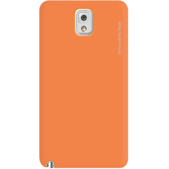 Deppa Air Case чехол для Samsung Galaxy Note 3, Orange83049Чехол Deppa Air Case для Samsung Galaxy Note 3 предназначен для защиты корпуса смартфона от механических повреждений и царапин в процессе эксплуатации. Имеется свободный доступ ко всем разъемам и кнопкам устройства. Чехол изготовлен из поликарбоната Teijin производства Японии с покрытием Soft touch.