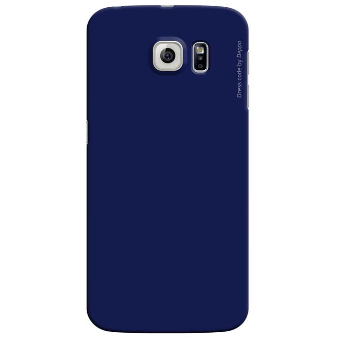 Deppa Air Case чехол для Samsung Galaxy S6 Edge, Blue83185Чехол Deppa Air Case для Samsung Galaxy S6 Edge предназначен для защиты корпуса смартфона от механических повреждений и царапин в процессе эксплуатации. Имеется свободный доступ ко всем разъемам и кнопкам устройства. Чехол изготовлен из поликарбоната производства Bayer с покрытием Soft touch и имеет толщину 0,8 мм.