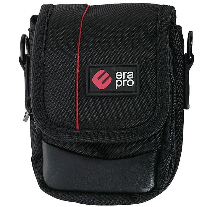 Era Pro EP-010911 Black, сумка для фотокамерыEP-010911Чехол Era Pro EP-010911 из твила - полезная и незаменимая вещь, предназначенная для переноски и хранения компактных фотоаппаратов. Закрывается при помощи клапана и имеет дополнительный внешний карман на молнии для хранения аксессуаров.