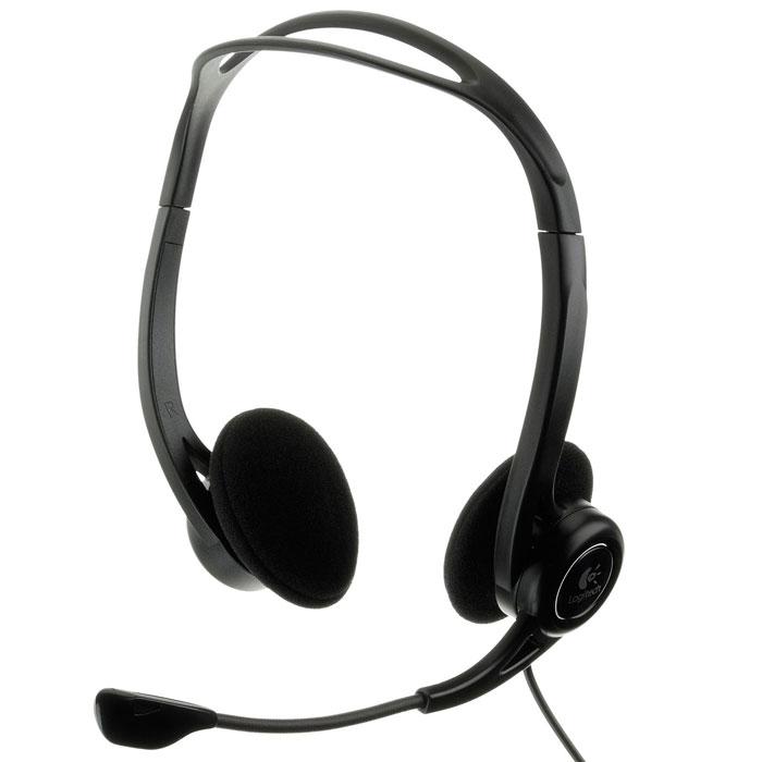 Logitech PC Headset 960 USB гарнитура (981-000100)981-000100Стереофоническая USB-гарнитура Logitech PC Headset 960, которая дает Вам возможность говорить и слушать с удобством — и по доступной цене. Регулируемая легкая конструкция с мягкими ушными накладками достаточно удобна, чтобы носить ее весь день.