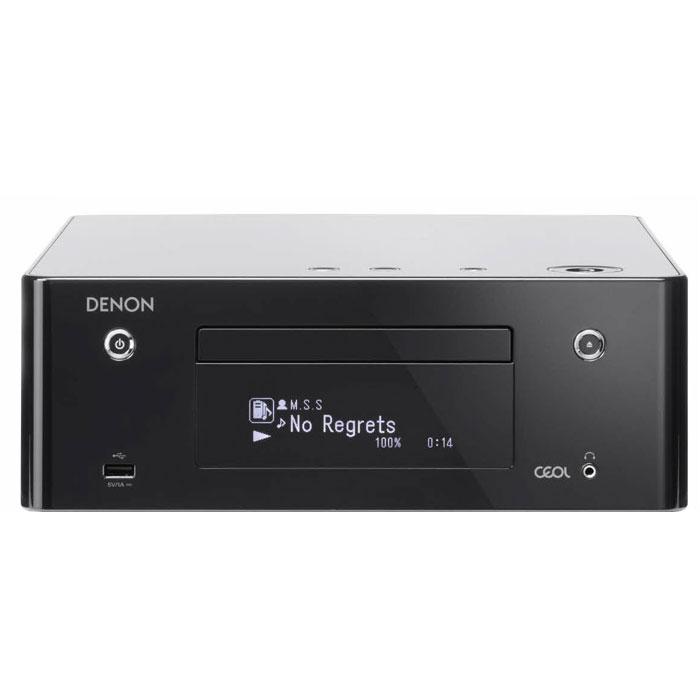 Denon RCD-N9, Black сетевой CD-ресивер4951035054246Denon RCD-N9 - CD-ресивер с интеграцией в вашу локальную сеть через Wi-Fi соединение или LAN-интерфейс. Ресивер позволяет проигрывать все актуальные форматы: FLAC, ALAC, AIFF, WAV. Доступны сервисы Spotify Connect и vTuner. Поддержка протокола WMM гарантирует качественную беспроводную передачу аудио по сети в приоритетном режиме.Для приема беспроводного аудиопотока с устройств на базе iOS имеется функция AirPlay. Имеется встроенный Bluetooth-модуль с функцией NFC для быстрой установки связи с Bluetooth-устройствами. Управлять ресивером можно с помощью пульта ДУ, веб-браузера, а также с любого гаджета на базе iOS или Android через приложение Denon Hi-Fi Remote App. Для приема аналогового радио на борту Denon RCD-N9 присутствует AM/FM-тюнер. Пути прохождения сигнала по цепям CD-ресивера максимально сокращены для получения достоверного звучания. Сетевое подключение: Ethernet, Wi-FiСетевые сервисы: vTuner, SpotifyAirPlay BluetoothПоддержка NFC3-строчный дисплей OELDЗарядка iPod в дежурном режимеЧастотный диапазон FM/AM-тюнера: 87,5 – 108 МГц/522 – 1611 кГцПотребляемая мощность: 55 ВтМинимальная потребляемая мощность: 0,4 Вт
