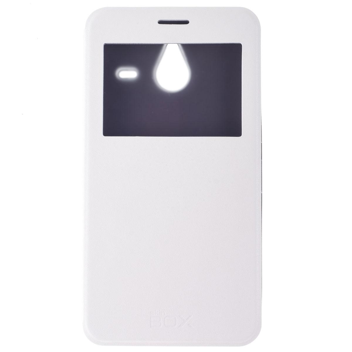 Skinbox Lux AW чехол для Microsoft Lumia 640 XL, WhiteT-S-ML640XL-004Чехол Skinbox Lux AW выполнен из высококачественного поликарбоната и экокожи. Он обеспечивает надежную защиту корпуса и экрана смартфона и надолго сохраняет его привлекательный внешний вид. Чехол также обеспечивает свободный доступ ко всем разъемам и клавишам устройства.