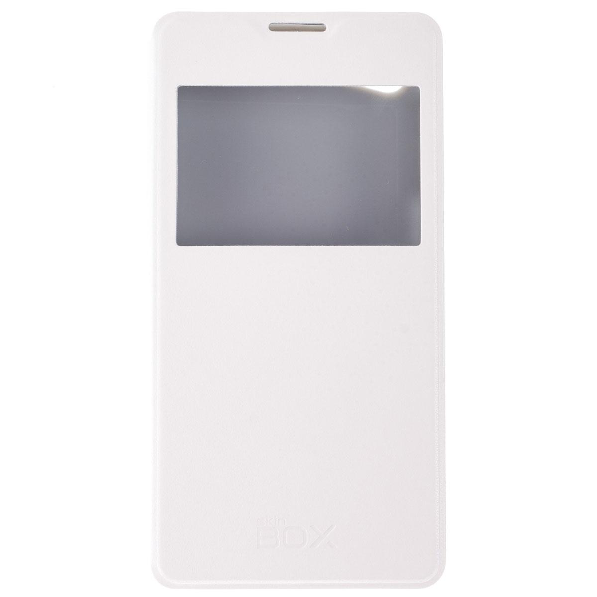 Skinbox Lux AW чехол для Philips W6610, WhiteT-S-PW6610-004Чехол Skinbox Lux AW выполнен из высококачественного поликарбоната и экокожи. Он обеспечивает надежную защиту корпуса и экрана смартфона и надолго сохраняет его привлекательный внешний вид. Чехол также обеспечивает свободный доступ ко всем разъемам и клавишам устройства.