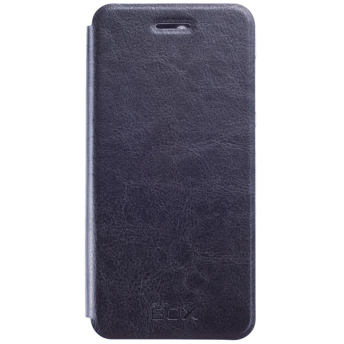Skinbox Lux чехол для ZTE Blade S6, BlackT-S-ZBS6-003Чехол Skinbox Lux выполнен из высококачественного поликарбоната и экокожи. Он обеспечивает надежную защиту корпуса и экрана смартфона и надолго сохраняет его привлекательный внешний вид. Чехол также обеспечивает свободный доступ ко всем разъемам и клавишам устройства.