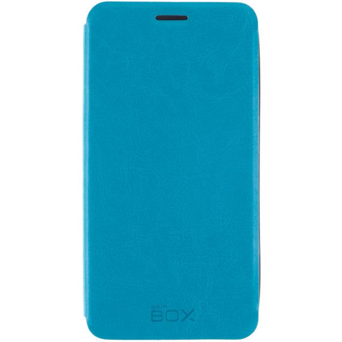 Skinbox Lux чехол для Meizu M1 Note, BlueT-S-MM1N-003Чехол Skinbox Lux для Meizu M1 Note выполнен из высококачественного поликарбоната и экокожи. Он обеспечивает надежную защиту корпуса и экрана смартфона и надолго сохраняет его привлекательный внешний вид. Чехол также обеспечивает свободный доступ ко всем разъемам и клавишам устройства.