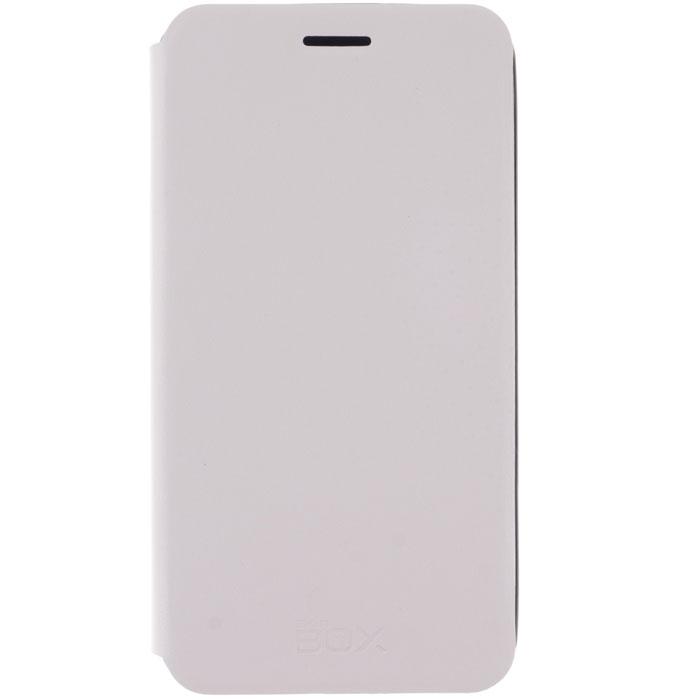 Skinbox Lux чехол для Meizu MX4 Pro, WhiteT-S-MMX4P-003Чехол Skinbox Lux для Meizu MX4 Pro Note выполнен из высококачественного поликарбоната и экокожи. Он обеспечивает надежную защиту корпуса и экрана смартфона и надолго сохраняет его привлекательный внешний вид. Чехол также обеспечивает свободный доступ ко всем разъемам и клавишам устройства.