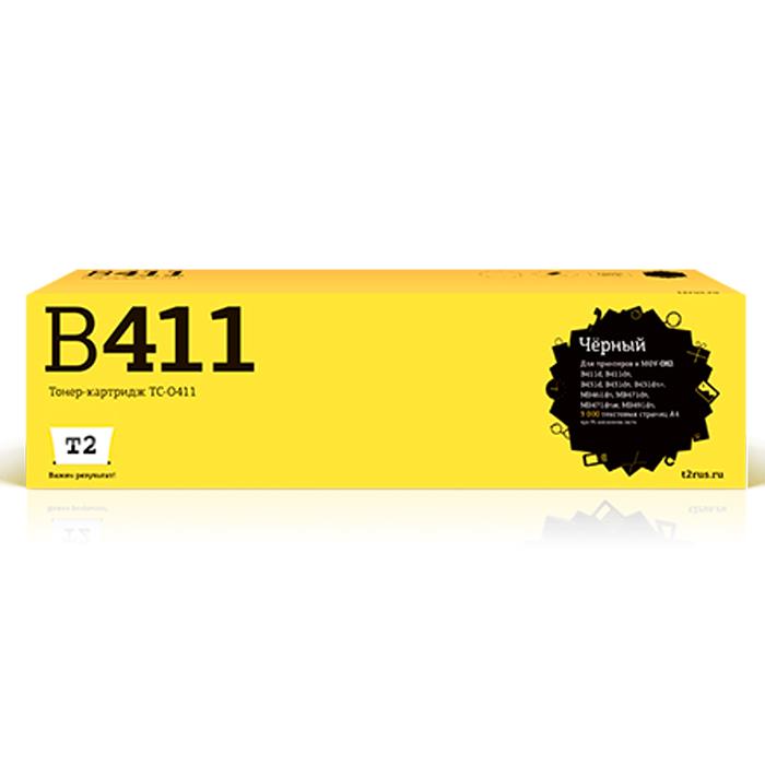 T2 TC-O411 тонер-картридж для OKI B411/B431/MB461/MB471/MB491TC-O411