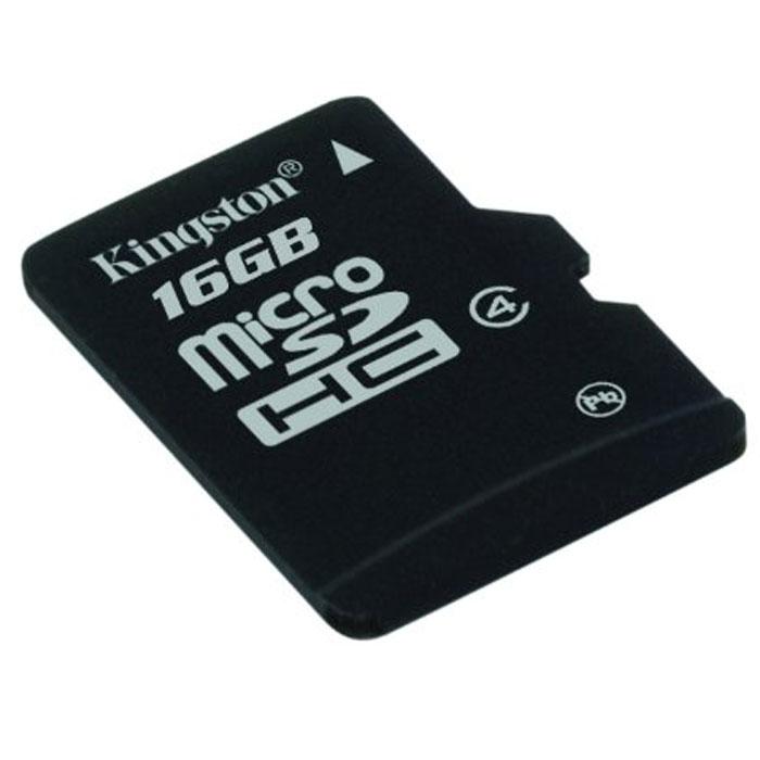 Kingston microSDHC Class 4 16GB карта памятиSDC4/16GBSPКарты microSDHC позволяют хранить большие объемы музыки, видео, изображений, игр в современных мобильных устройствах. Флэш-карты microSDHC относятся к 4 скоростному классу, т.е. максимальная скорость передачи данных составляет 4 Мб/с. По размерам карты microSDHC совпадают с картами microSD, но совместимы только с устройствами, поддерживающими стандарт microSDHC в соответствии со спецификацией SD Specification Version 2.0. Карты microSDHC можно использовать с адаптером (продаётся отдельно) как полноразмерные карты SDHC. Внимание: перед оформлением заказа, убедитесь в поддержке Вашим электронным устройством карт памяти данного объема.