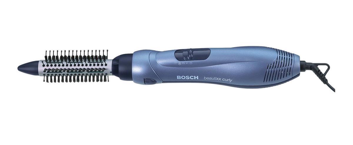 Фен-щетка Bosch PHA 2300PHA2300Мощность: 700 Вт Насадки: 2 насадки-щетки, насадка-концентратор Количество температурных режимов: 2 (350/700 Вт) Длина сетевого шнура: 2 м