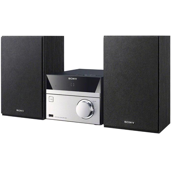 Sony CMT-S20 микросистемаCMTS20.RU1Аудиосистема Sony CMT-S20 поддержкой CD, FM-радио и портами USB. С помощью USB-порта или аудиовхода к аудиосистеме можно подключить смартфон, ноутбук, MP3-плеер или карту памяти с любимыми песнями. 2 динамика мощностью 5 Вт обеспечивают точное и насыщенное звучание каждой ноты ваших любимых песен. С помощью цифрового DAB-радио вы можете с легкостью настроиться на множество радиостанций. Элегантная и компактная аудиосистема идеально подходит для небольшого помещения, например, кухни или кабинета. С функцией Bass Boost Вам обеспечено резонирующее и насыщенное звучание басов в музыке любого жанра от классического фанка до дабстепа. Подзарядите свой смартфон или цифровой музыкальный плеер, подключив его с помощью USB-кабеля. С мощью удобного пульта дистанционного управления можно выбрать нужную композицию или регулировать громкость, не вставая с кресла. FM радиопиемник с поддержкой RDS Диапазон FM: 87.5 - 108...