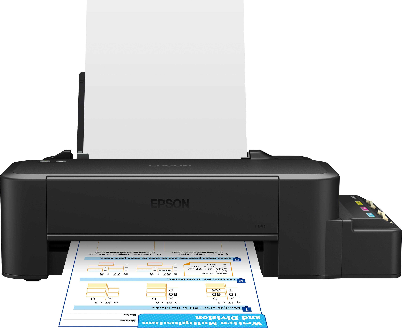 Epson L120 цветной принтерC11CD76302Компактный и доступный по цене принтер с рекордно низкой себестоимостью печати Фабрика печати Epson L120 – самый доступный по цене принтер данной серии. Кроме того он отличается самыми компактными размерами из всей линейки устройств «Фабрика печати» благодаря новой конструкции чернильных емкостей, вмещающих по 40 мл. чернил каждого цвета. За счет отсутствия картриджей Фабрика печати Epson L120 позволяет печатать цветные документы с рекордно низкой себестоимость и является идеальным решением для пользователей, которым нужна максимально экономичная, но вместе с тем качественная печать. Рекордно низкая себестоимость печати Расходными материалами к Epson L120 служат стандартные контейнеры с чернилами серии C13T664 емкостью по 70 мл. каждый. Таким образом не смотря на то что емкости у данного устройства вмещают по 40 мл. чернил себестоимость печати на нем такая же, как на других 4- цветных моделях серии Фабрика печати Epson – всего 20 коп. за...