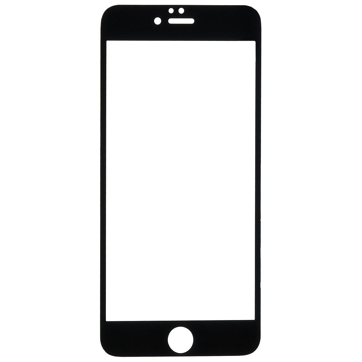 Highscreen защитное стекло для iPhone 6 Plus, черная рамка22888Защитное стекло Highscreen для iPhone 6 Plus - надежная защита экрана смартфона от грязи, пыли, отпечатков пальцев и царапин. Стекло изготовлено точно по размеру экрана, отличается кристальной прозрачностью и имеет все необходимые прорези.