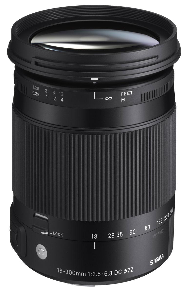 Sigma AF 18-300mm F3.5-6.3 DC MACRO OS HSM/C объектив для Canon