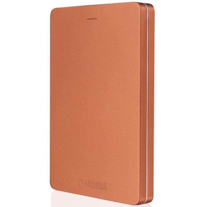 Toshiba Canvio Alu 500GB, Red внешний жесткий диск (HDTH305ER3AA)