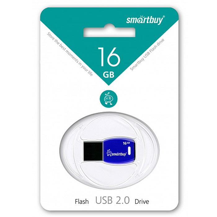 SmartBuy Cobra 16GB, Dark Blue USB-накопительSB16GBCR-DbВ цифровую эру компактный флеш-накопитель - это ключ в цифровой мир, который предлагает бесконечные возможности сохранения памятных событий. Флеш-накопитель Smartbuy Cobra, по дизайну напоминающий ключ, можно подсоединить к брелоку с другими ключами, что позволит вам всегда свои воспоминания носить с собой. Совместима с: Windows 8/7/XP/2000/Vista, Mac OS 8.6 и Linux 2.4.0 (или выше)Уникальный дизайн в виде ключа