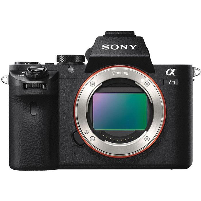Sony Alpha A7 II (M2) Body, Black цифровая фотокамераILCE7M2B.CECКамера Sony Alpha A7 II значительно расширяет ваши возможности, компенсируя пять типов дрожания камеры при фото- и видеосъемке с рук. Высокоэффективная компенсация с шагом 4,5 позволяет вам уверенно приближать отдаленные объекты, снимать детализированные крупные планы или ночные сцены - и все это с минимальным размытием от сотрясения камеры. Совместимость с широкой линейкой сменных объективов: Новая 5-осевая стабилизация изображения позволяет наслаждаться непревзойденной свободой при съемке с рук с еще большим количеством сменных объективов. Короткий рабочий отрезок камеры 7 II с байонетом E повышает совместимость камеры с большим количеством объективов. Автоматическая оптимизация для каждого объектива: Камера 7 II анализирует данные с объектива, оптимизируя алгоритм формирования изображения и характеристики 5-осевой стабилизации изображения для каждого объектива, благодаря чему вы с уверенностью можете пользоваться любимыми...