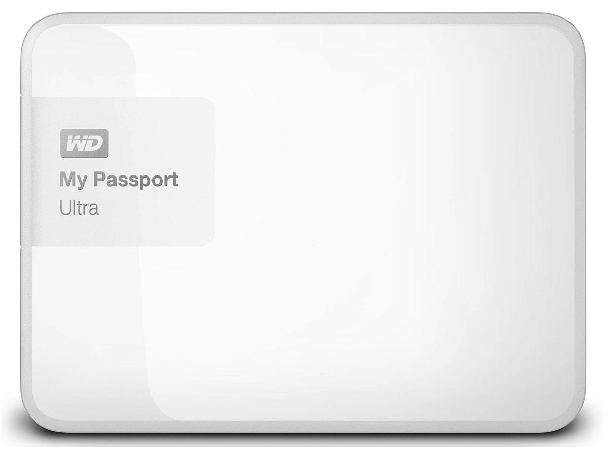 WD My Passport Ultra 500GB, White внешний жесткий диск (WDBBRL5000AWT-EEUE)WDBBRL5000AWT-EEUEНесмотря на свои компактные размеры, накопитель My Passport Ultra является стильным, мощным и защищенным устройством. Под цветным корпусом скрыты надежность и результат семи поколений инноваций. My Passport Ultra предлагается в четырех цветовых решениях, доступна емкость 500 ГБ, 1 ТБ, 2 ТБ и 3 ТБ. Накопитель обладает гибкими параметрами резервного копирования, аппаратным шифрованием с 256-разрядным ключом и ограниченной гарантией в три года. WD Backup: автоматическое и масштабируемое резервное копирование Создайте собственную стратегию автоматического резервного копирования, отвечающую вашему графику и стилю работы. Создавайте резервные копии всех файлов системы или только отдельных папок и файлов. Управление в ваших руках. WD Security: секретный уровень защиты Вы ведь защищаете данные на телефоне с помощью пароля? Почему бы не использовать такую же защиту в накопителе My Passport? Выберите пароль для защиты с помощью мощного...