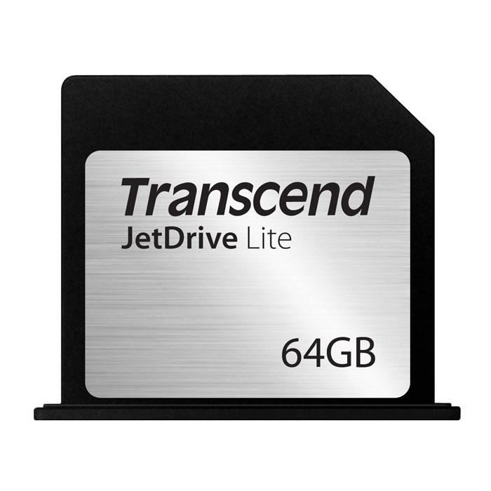 Transcend JetDrive Lite 350 64GB карта памяти для MacBook Pro (Retina) 15TS64GJDL350Transcend JetDrive Lite 350 - это простой и удобный способ снабдить свой MacBook дополнительный объемом памяти, не увеличивая вес компьютера.Чтобы моментально увеличить объем доступной дисковой памяти MacBook, необходимо лишь вставить карту JetDrive Lite в слот кардридера на боковой поверхности корпуса компьютера. Максимальная скорость считывания и записи карт JetDrive Lite может достигать 95 МБ/с и 60 МБ/с, соответственно. Эти карты идеально подходят для резервного копирования с помощью утилиты Time Machine, для хранения библиотек iTunes, а также для решения любых других схожих задач.Карты памяти Transcend JetDrive Lite имеют обтекаемый дизайн, который разрабатывается для каждой из моделей MacBook в отдельности, что позволяет выглядеть как органичный элемент корпуса компьютера. Все покупатели карт расширения памяти JetDrive Lite получают право на бесплатную загрузку эксклюзивного программного обеспечения Transcend JetDrive Toolbox, которое позволяет восстанавливать случайно удаленные изображения, видео, MP3 и PDF файлы всего за несколько кликов мышью.Карты флэш-памяти JetDrive Lite изготовляются с использованием технологии COB (chip-on-board), которая делает их ударопрочными, пыле- и влагонепроницаемыми. Поэтому, какие бы приключения ни выпали на долю вашего MacBook, карты JetDrive Lite надежно уберегут вашу ценную цифровую информацию.Карты JetDrive Lite специально проектировались для использования с компьютерами MacBook Air и MacBook Pro и дисплеем Retina. Они поставляются в четырех различных форм-факторах, которые идеально соответствуют размерам слотов кардридеров различных моделей этих компьютеров. На фото № 6 приведена таблица совместимости карт памяти.Тип памяти: MLCРабочее напряжение: 2,7 - 3,6 ВДолговечность: 10000 циклов установки/извлечения