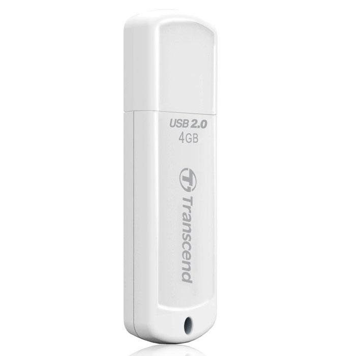 Transcend JetFlash 370 4GB USB-накопительTS4GJF370Удобный флэш-накопитель Transcend JetFlash 370 имеет защитный колпачок, помогающий уберечь его от возможных повреждений во время транспортировки. Благодаря высокоскоростному интерфейсу Hi-Speed USB 2.0 и большой емкости, накопители JetFlash 370 максимально упростят хранение, перенос и распространение любых цифровых файлов в дороге.