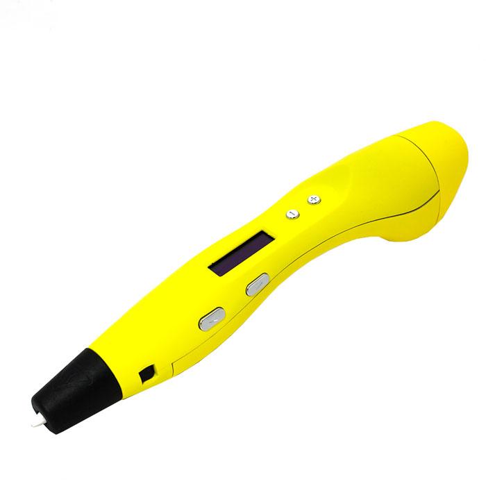 MyRiwell RP400A, Yellow 3D ручкаRP400A, yellow3D ручка MyRiwell RP400A позволяет рисовать объемные картины и создавать трехмерные объекты. Для рисования 3D ручкой используется ABS и PLA пластик. Пластик расплавляется внутри корпуса ручки и подается в сопло. Температура и скорость подачи пластика регулируется, что позволяет рисовать толстыми или тонкими линиями. Диаметр сопла: 0,4 мм Материал печати: ABS, PLA пластик Диаметр используемой нити: 1,75 мм Скорость печати: 0,076-0,86 см3/мин Температура печати: ABS - 230°С; PLA - 180°С Размеры экструдера: 5,5 см х 2,5 см х 5,5 см
