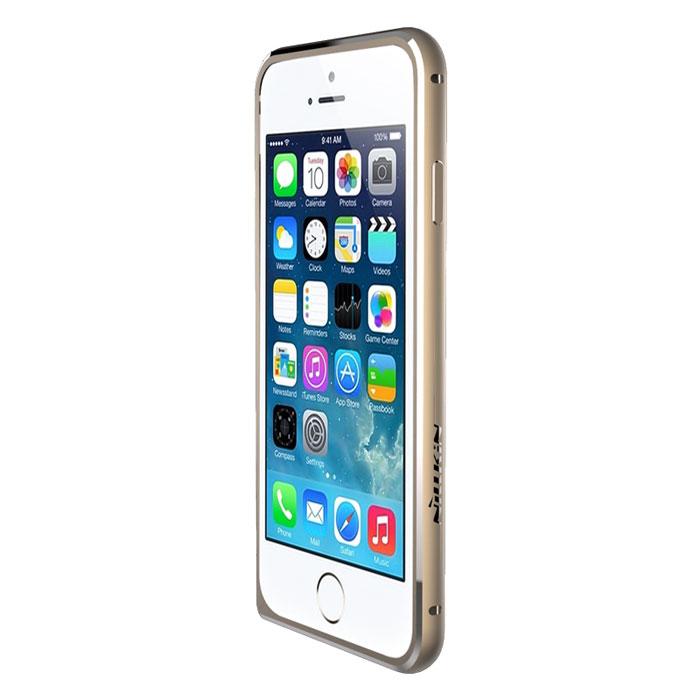 Nillkin Border Series чехол для Apple iPhone 6, GoldT-N-iPhone6-015Бампер Nillkin Border Series для Apple iPhone 6 выполнен из высококачественного поликарбоната. Он защищает боковые стороны вашего смартфона при падении. Бампер разработан специально для данной модели смартфона, поэтому идеально подходит по форме и размеру.