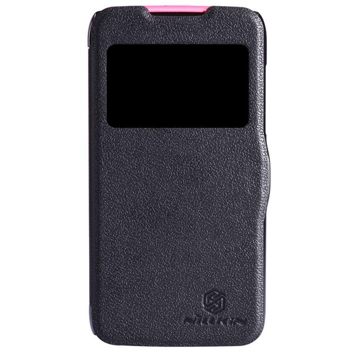 Nillkin Fresh Series Leather Case чехол для Lenovo A516, BlackT-N-LA516-001Чехол Nillkin Fresh Series Leather Case сделан из высококачественного поликарбоната и экокожи. Он надежно фиксирует и защищает смартфон при падении. Обеспечивает свободный доступ ко всем разъемам и элементам управления.