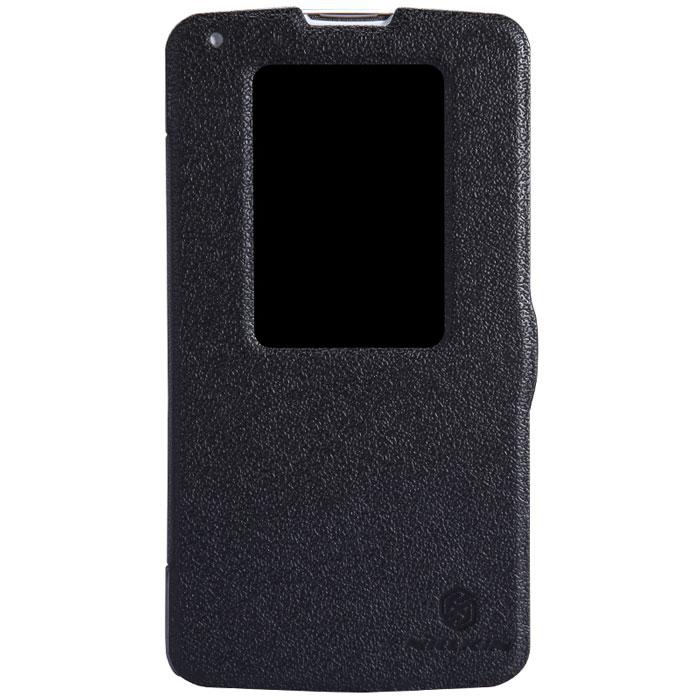 Nillkin Fresh Series Leather Case чехол для LG G Pro 2 (D838), BlackT-N-LD838-001Чехол Nillkin Fresh Series Leather Case сделан из высококачественного поликарбоната и экокожи. Он надежно фиксирует и защищает смартфон при падении. Обеспечивает свободный доступ ко всем разъемам и элементам управления.Уникальный дизайн чехла с окном для экрана, в котором отображаются все важные иконки. Нет необходимости открывать чехол для того, чтобы установить время, выбрать музыку, сделать фото, ответить на звонок или прочитать сообщение.