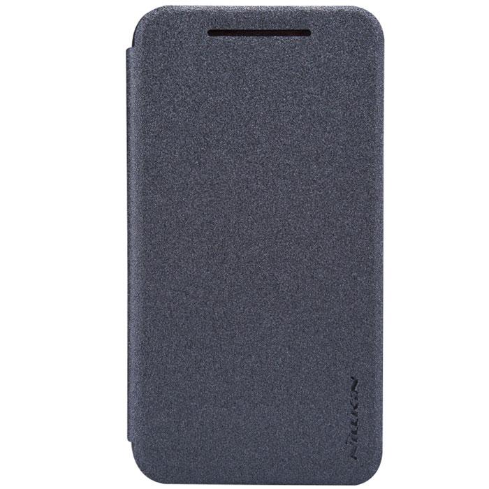 Nillkin Sparkle Leather Case чехол для HTC Desire 210, Black nillkin чехол книжка для htc one e8 sparkle leather case