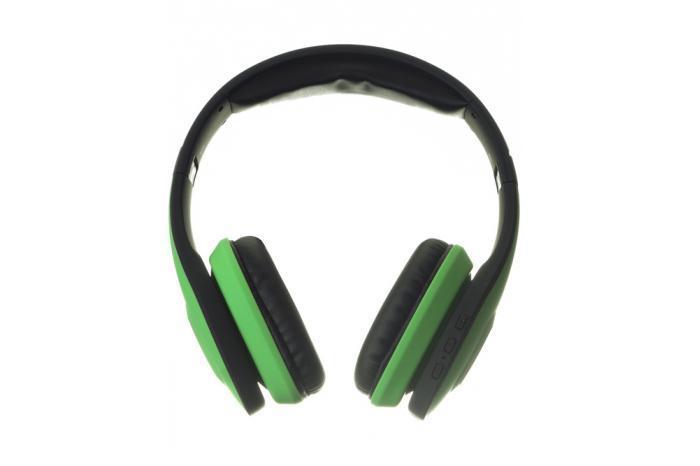 Harper HB-401, Green беспроводные наушникиHB-401 GreenВеликолепный стильный дизайн Harper HB-401 не только прекрасно выглядит, но и, благодаря использованию качественных материалов, очень надежен и прочен. Приятные мягкие амбушюры и оголовье не сильно давят на уши и обеспечивают отличный уровень комфорта. Наушники Harper HB-401 снабжены высококачественными динамиками, которые прекрасно справляются с воспроизведением музыки даже в очень высоком качестве. Bluetooth версии 4.0 обеспечивает прекрасное качество соединения и скорость передачи данных, что позволяет добиться великолепного качества звука.