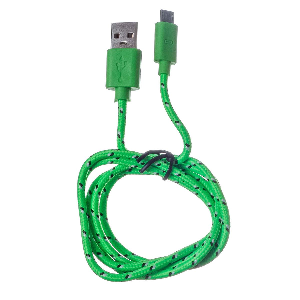 Harper CCH-511, Green USB-кабельH00000123Кабель Harper CCH-511 подходит для зарядки и синхронизации мобильных телефонов, смартфонов и других цифровых устройств с разъемом micro USB.
