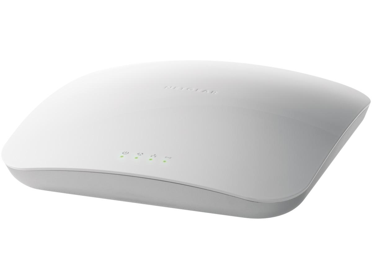 NetGear WNAP320-100PES точка доступаWNAP320-100PESNetGear WNAP320-100PES увеличивает зону покрытия Wi-Fi сигналом в 10 раз и скорость в 15 раз по сравнению со стандартом 802.11g. Устройство обладает улучшенной зоной покрытие Wi-Fi сигналом и десятикратным увеличением скорости по сравнению с Wireless-G c повышенными функциями безопасности. Гибкие возможности управления, отвечающие вашим потребностям и безопасность корпоративного уровня: WPA2, обнаружение сторонних беспроводных точек Rogue AP и 802.11n с поддержкой RADIUS также относятся к неоспоримым преимуществам NetGear WNAP320-100PES. Встроенная поддержка питания Power over Ethernet (IEEE802.3af PоE) снижает издержки развертывания Поддержка IEEE 802.3af PоE обеспечивает возможность легкого монтажа в наиболее подходящих местах: в настольном, настенном или потолочном исполнении Развертывание на больших расстояниях в качестве беспроводного моста или ретранслятора в режимах точка-точка или точка-многоточка благодаря технологии Wireless Distribution System (WDS) ...