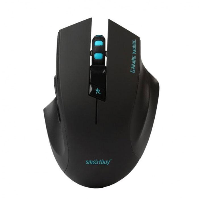 SmartBuy SBM-706AGG-K, Black беспроводная игровая мышьSBM-706AGG-KSmartBuy SBM-706AGG-K снабжена уникальной технологией Auto On/off, которая обеспечивает автоматическое отключение питания (не требует наличия кнопки вкл/выкл). После непродолжительного бездействия происходит переход в спящий режим (для выхода из него необходимо нажать любую кнопку мыши). Для предотвращения включения мыши вследствие случайного нажатия кнопок при выключенном компьютере необходимо вытащить ресивер из USB порта компьютера либо перевести выключатель в положение off. Нано-ресивер - компактный приемник сигнала, который можно оставлять включенным в порт компьютера даже при транспортировке, не боясь его потери или повреждений, т.к. он выступает из корпуса компьютера всего лишь на несколько миллиметров. Чувствительный оптический сенсор мыши SmartBuy SBM-706AGG-K обеспечивает точное позиционирование курсора и позволяет работать практически на любой поверхности. Для работы не нужны дополнительные драйверы, просто подключите устройство к компьютеру.