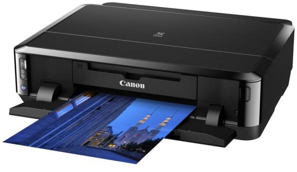 Canon Pixma iP7240 струйный принтер6219B007Canon PIXMA iP7240 - быстрый, низкопрофильный фотопринтер с функциями Wi-Fi, автоматической двусторонней печати и прямой печати на диски. Высокопроизводительный фотопринтер с 5 отдельными картриджами, функцией Wi-Fi и возможностью печати со смартфона. Низкопрофильный дизайн, два встроенных лотка для бумаги, функции автоматической двусторонней печати и прямой печати на диски.