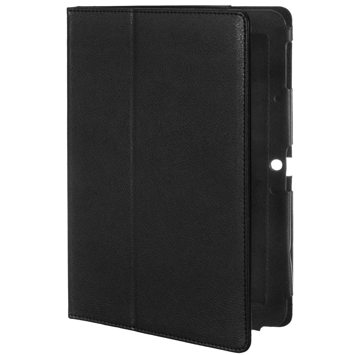 IT Baggage чехол для Prestigio Multipad 4 Diamond 10.1, BlackITPRE102-1Чехол IT Baggage для Prestigio Multipad 4 Diamond 10.1 - это стильный и лаконичный аксессуар, позволяющий сохранить планшет в идеальном состоянии. Надежно удерживая технику, обложка защищает корпус и дисплей от появления царапин, налипания пыли. Также чехол IT Baggage для Prestigio Multipad 4 Diamond 10.1 можно использовать как подставку для чтения или просмотра фильмов. Имеет свободный доступ ко всем разъемам устройства.
