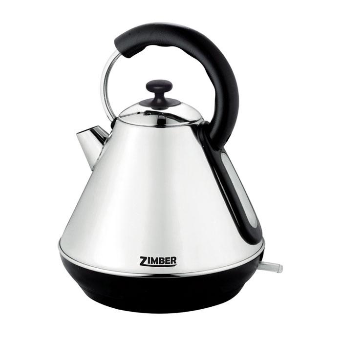 Zimber ZM-10771, Silver электрический чайникZM-10771Электрический чайник Zimber ZM-10771 является прекрасным решением для тех, кто любит устраивать себе перерывы в работе на чашечку чая или кофе. Он прост в управлении и долговечен в использовании. Чайник автоматически выключается при закипании.