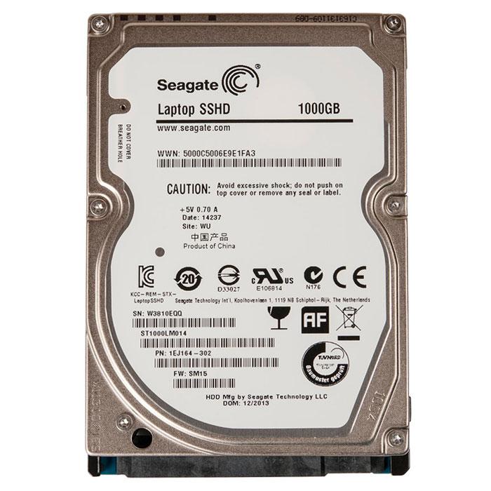 Seagate Laptop Thin SSHD 1TB/8GB гибридный жесткий диск (ST1000LM014)