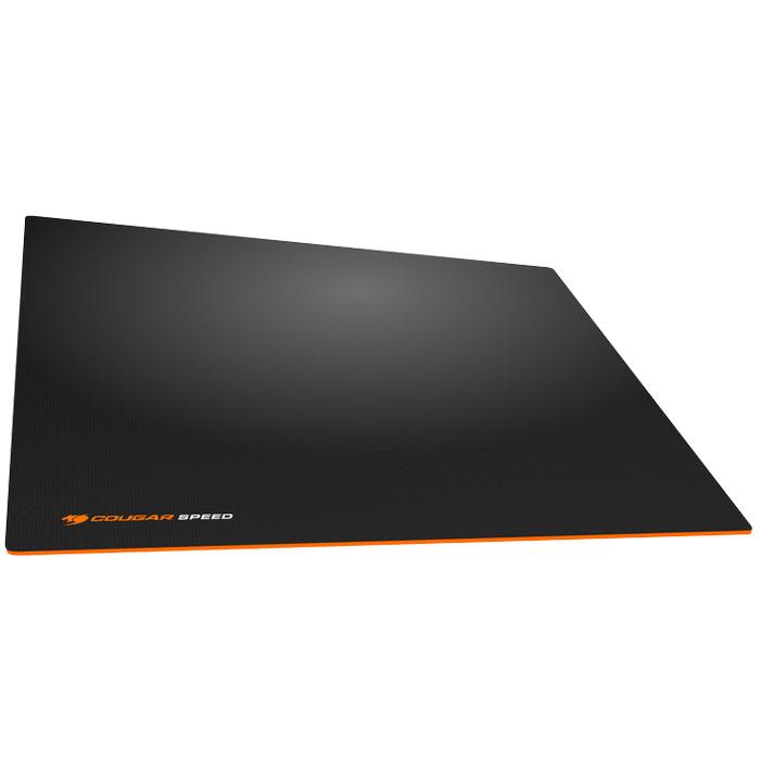 Cougar Speed S, Black Orange коврик для мышиCUSPSИгровые ковры Cougar Speed имеют гладкую поверхность для максимальной точности. Это позволяет двигать мышь настолько быстро, насколько это нужно, и останавливать её там, где это нужно. Гладкая поверхность обеспечивает максимальное скольжение и высокоточное позиционирование. Высокоточное позиционирование гарантирует точную работу сенсора, позволяя обойтись без лишних рывков. Идеальная толщина в 4 мм для наилучшего комфорта кисти руки.