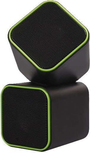 SmartBuy Cute SBA-2580, Black Green акустическая системаSBA-2580Оригинальная акустическая система SmartBuy CUTE SBA-2580- отличное дополнение к ноутбуку или настольному компьютеру. Благодаря компактным размерам колонки легко помещаются даже на небольшом рабочем столе. Мощности динамиков достаточно для комфортного просмотра фильмов и прослушивания музыки. Акустика подключается к USB-порту и не требует дополнительных источников питания.