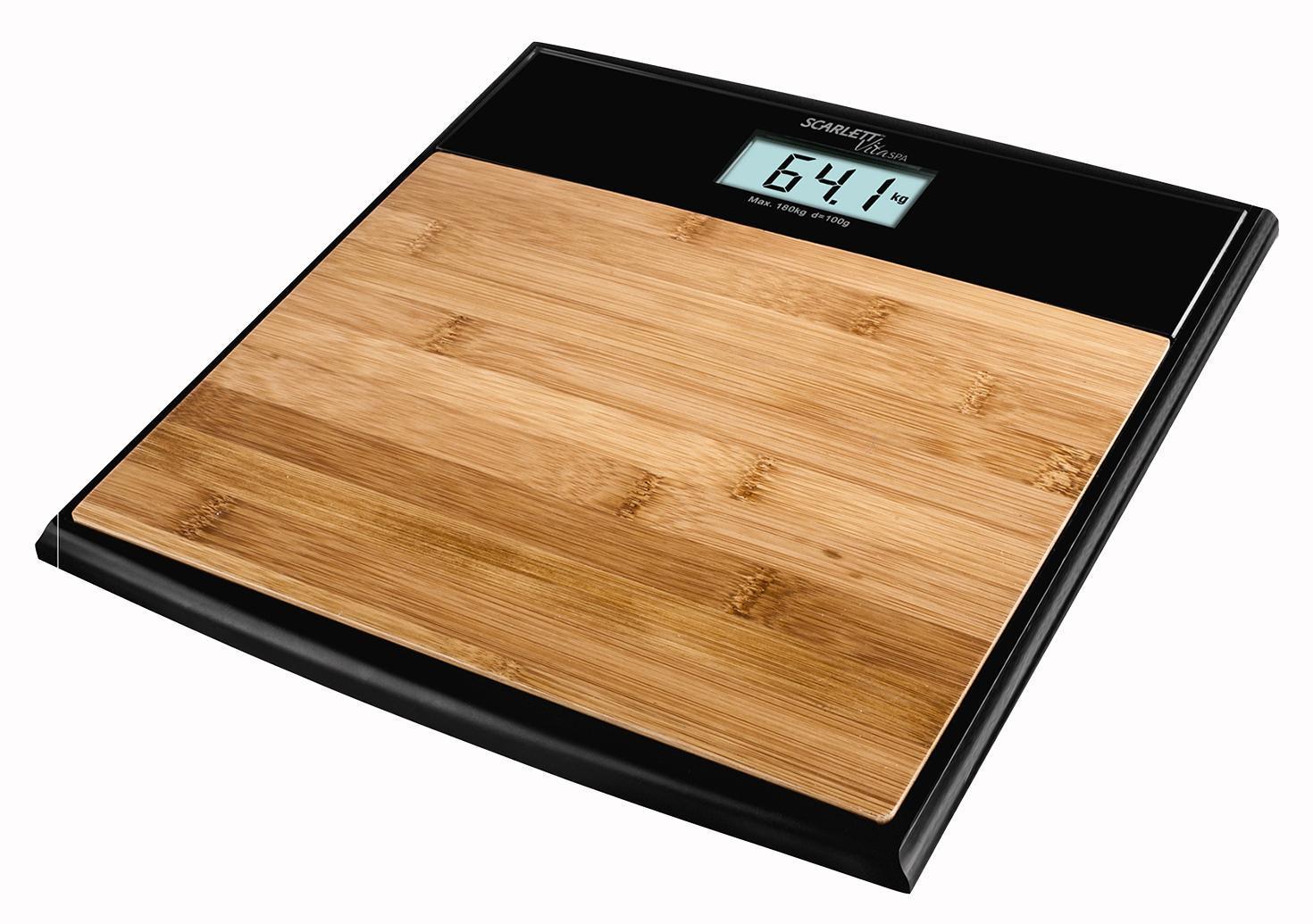Scarlett SC-BS33E064 Bamboo весы напольные электронныеSC-BS33E064