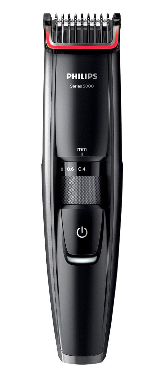 Philips BT5200/16 триммерBT5200/16Триммер Philips BT 5200/16, оснащенный металлическими лезвиями, позволяет создать идеальный образ в соответствии с пожеланиями, будь то трехдневная щетина, короткая или длинная борода. Новый встроенный гребень приподнимает волоски для точного и эффективного подравнивания одним движением. Динамическая система подравнивания и встроенный гребень приподнимают волоски к лезвию для равномерного подравнивания и создания эффекта трехдневной щетины, а также моделирования короткой или длинной бороды. Данная модель обеспечивает подравнивание щетины и одновременно заботу о коже. Новый встроенный гребень приподнимает волоски к лезвиям для удобного и эффективного подравнивания. Триммер оснащен металлическими лезвиями с двойной заточкой, которые срезают больше волосков за одно движение для более быстрого подравнивания. Выберите нужную установку длины 0,4–10 мм с шагом 0,2 мм, повернув колесико на ручке. Выбранная установка будет зафиксирована, чтобы...