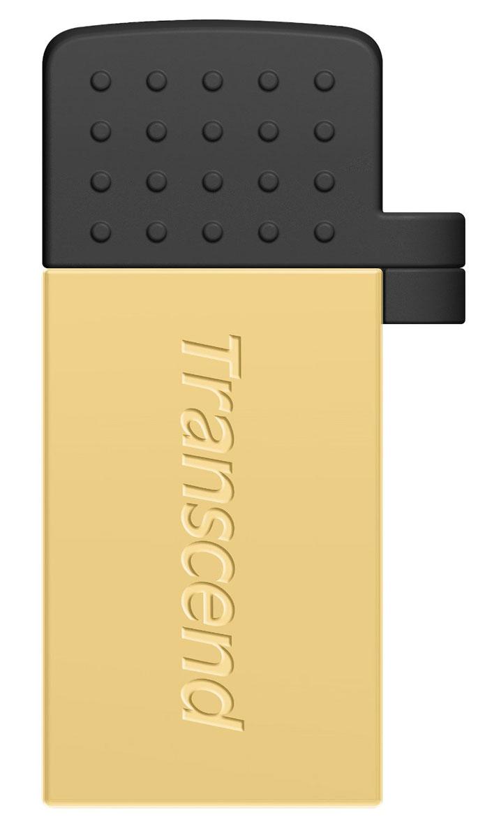 Transcend JetFlash 380 8GB, Gold USB-накопительTS8GJF380GФлэш-накопитель Transcend JetFlash 380 USB OTG разработан, чтобы преобразовать способ переноса и обмена персональными коллекциями медиафайлов. Более того, бесплатное приложение Transcend Elite позволит просматривать содержимое накопителя, а также осуществлять резервное копирование фотографий, видеозаписей, документов и других важных для пользователя файлов, которые хранятся в памяти смартфона или планшета. Два интерфейса доступа: С одной стороны находится интерфейс micro USB, который позволяет подключать флэш-накопитель к мобильным устройствам. С другой стороны, JetFlash 380 оснащен и полноразмерным USB-разъемом, который пригодится для обмена файлами с компьютерами, оборудованными обычными портами USB. Передача данных в любое время и в любом месте: JetFlash 380 позволяет пользователям перемещать или копировать файлы с/на карту памяти своего мобильного устройства с помощью постоянной USB связи, которая быстрее и надёжнее чем Wi-Fi,...