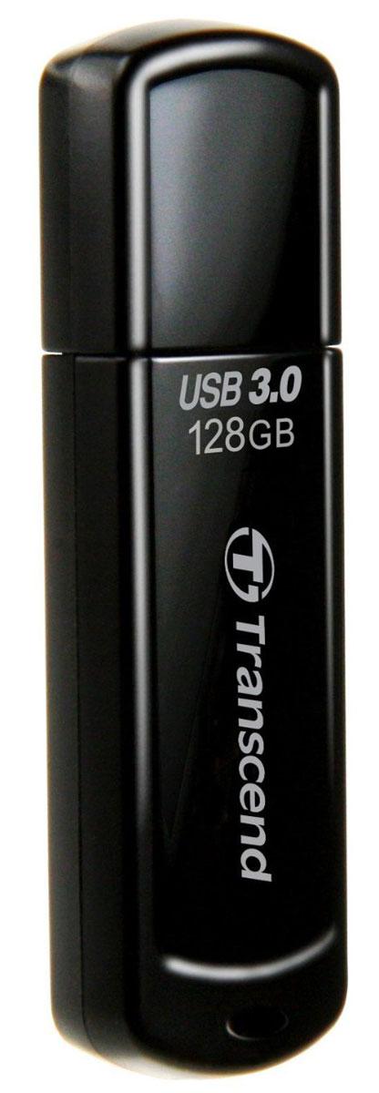 Transcend JetFlash 700 128GB, Black USB-накопительTS128GJF700Те, кто всегда ценил в вещах качество, оценят элегантный и выразительный дизайн USB-накопителя Transcend JetFlash 700. Утончённый вид JetFlash 700 в чёрном исполнении соединил в себе стойкость и лёгкость пластиковогокорпуса, который не только красиво выглядит, но и надёжно защищает важную информацию, куда бы вы не пошли.