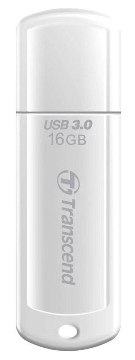 Transcend JetFlash 730 16GB, White USB-накопитель