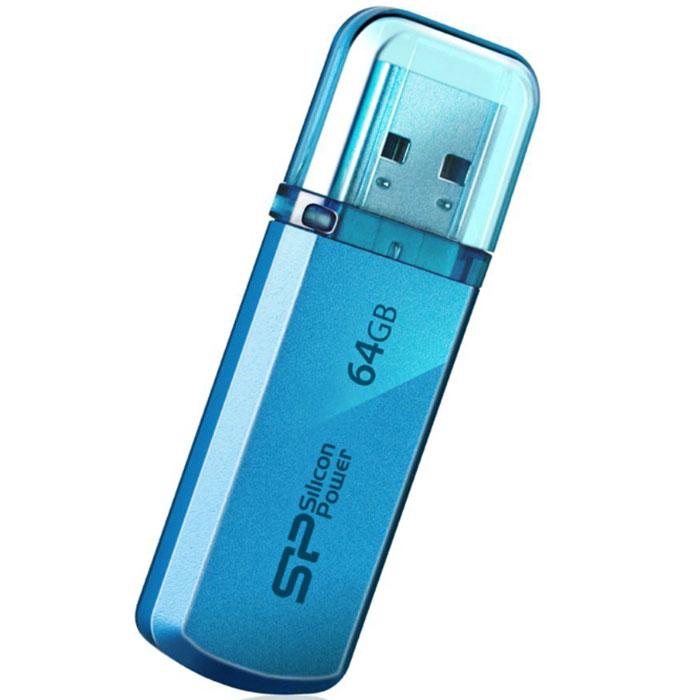 Silicon Power Helios 101 64GB, Blue USB-накопительSP064GBUF2101V1BДоступный в яблочно-зеленом и лазоревом цветах новый Silicon Power Helios 101 имеет алюминиевый корпус с матовым покрытием. Silicon Power Helios 101 отражает футуристический, стильный и простой дизайн. Он тонок, легок и подходит для пользователей, следящих за модой! Helios 101 может быть прикреплен к брелоку с ключами и использоваться как аксессуар. Обладающий функцией plug&play Helios 101 - идеальный компаньон нетбука!ПО SP Widget с 7 основными функциями для защиты данных:Синхронизация и Резервное копирование Мои ДокументыСинхронизация и Резервное копирование других папокСинхронизация и Резервное копирование Outlook/Outlook expressКопирование и шифрование данных на USB носительЗагрузка 60-дневной пробной версии Symantec Norton Internet security бесплатноСинхронизация и Резервное копирование папки ИзбранноеБлокирование компьютера паролем, по времени или USB накопителем
