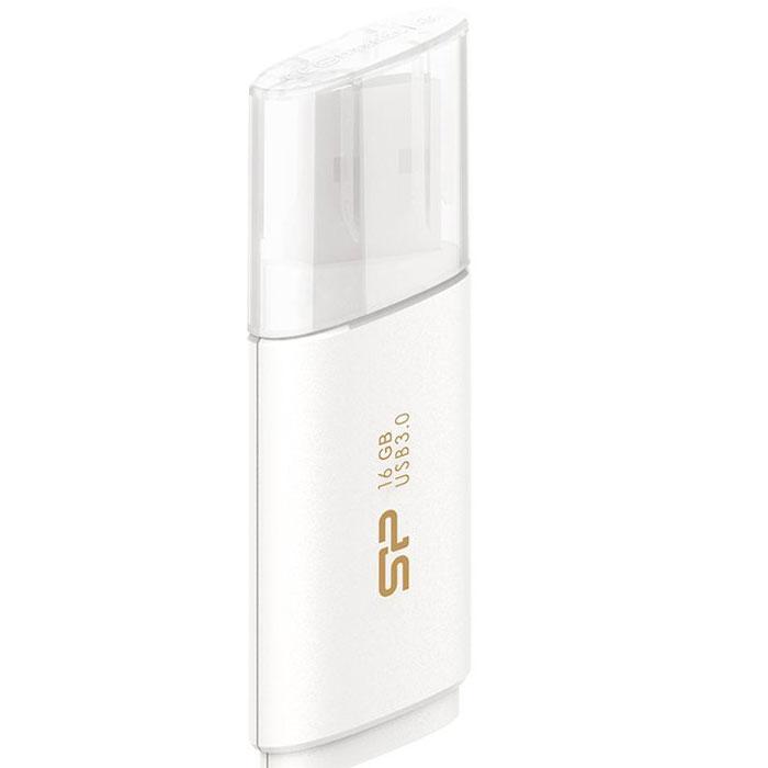 Silicon Power Blaze B06 16GB, White USB-накопитель