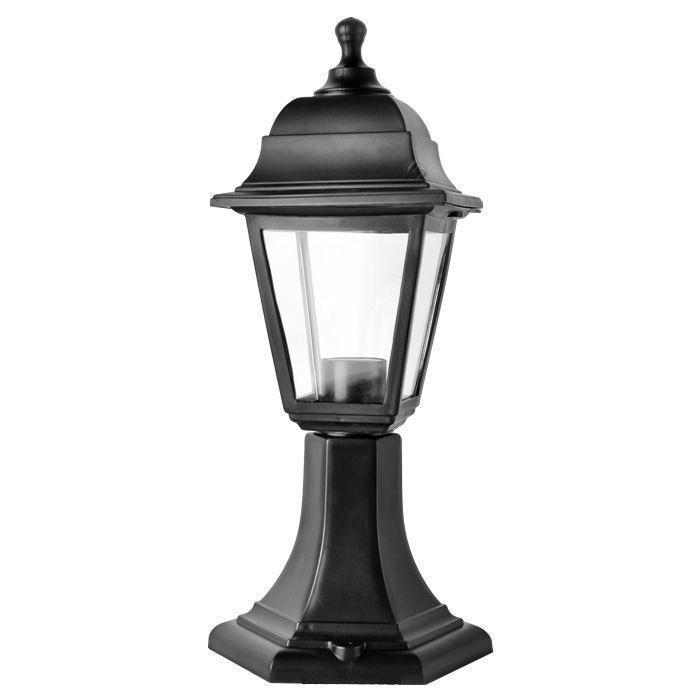 Светильник садовый НТУ04-1-60-Е27 черный
