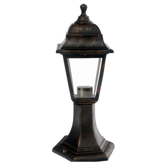 Светильник садовый НТУ04-1-60-Е27 бронзаНТУ04Уличный светильник — ночник. Широкая цветовая гамма. Плафон из термоустойчивого пластика создает мягкое освещение. Используется только энергосберегающая лампа (не входит в комплект). В комплекте инструкция по сборке светильника. Корпус светильника изготовлен из ударопрочного полипропилена, рассеиватели - из стекла. Материал уплотнителей - ПВХ.