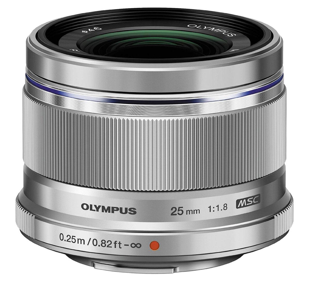 Olympus M.Zuiko Digital 25mm f/1.8, Silver объектив