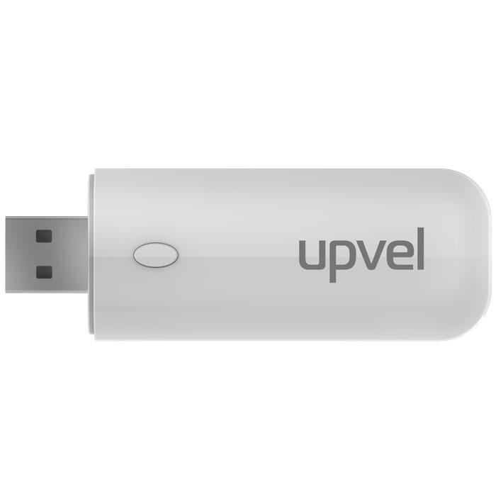 UPVEL UA-382AC Arctic White Wi-Fi USB-адаптерUA-382AC ARCTIC WHITEWi-Fi USB-адаптер UPVEL UA-382AC поддерживает стандарт 802.11ac, самый современный стандарт Wi-Fi на сегодняшний день. Адаптер позволяет подключаться к сетям 2,4 и 5 ГГц на скоростях до 300 и 867 Мбит/с соответственно. UA-382AC поможет подключить к беспроводной сети устройства, не имеющие собственного модуля Wi-Fi. Если устройство уже имеет штатный адаптер Wi-Fi, но он не поддерживает стандарт 802.11ac или диапазон 5 ГГц - адаптер UA-382AC поможет значительно увеличить скорость соединения.Поддерживаются функция WPS (подключение без ввода пароля нажатием кнопки) и режим точки доступа (создание собственной сети Wi-Fi при помощи компьютера, подключенного к сети кабелем). Обратная совместимость с предыдущими стандартами Wi-Fi (802.11n, 802.11g, 802.11b и 802.11a) делает возможным подключение к самым разным роутерам и точкам доступа, включая устаревшие модели.Поддержка ОС: Windows 8, 7, Vista, XP